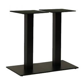 Опора для столу подвійна Рона чорна 40 * 70 см (СДМ меблі-ТМ), фото 2