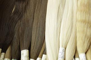 60 см славянские волосы для наращивания в срезах
