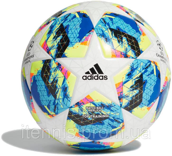 Футбольный мяч Adidas Finale TOP Training FIFA 19/20 size 5/4
