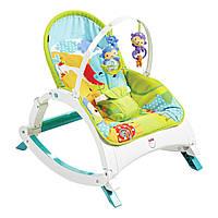 Портативное кресло-качалка Растем вместе, Fisher-Price (CMR10)