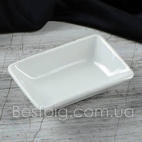Розетка для соевого соуса - 50 мл, Белая (Славянская Керамика)