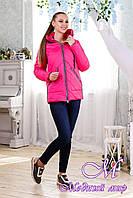 Женская яркая куртка осень весна (р. 44-58) арт. 1091 Тон 111