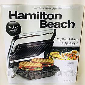 Електричний гриль (2 в 1) Hamilton Beach 25451-SAU (барбекю-електрогриль)