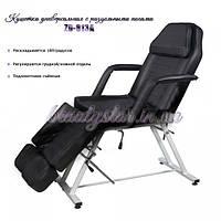 Кресло Кушетка косметологическая с раздельными ножками для педикюра, для тату салонов 813-а