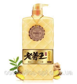 Имбирный шампунь Ginger Shampoo для роста волос, 820 мл