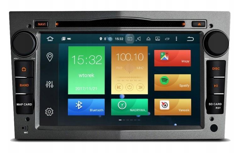 Штатная магнитола 2DIN Android 9 для Opel Vectra / Astra / Corsa Wi-fi 32Gb/4Gb