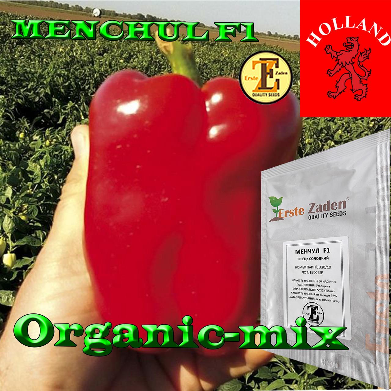 МЕНЧУЛ F1 / MENCHUL F1, семена сладкого кубовидного перца, 1000 семян, ТМ Erste Zaden