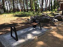 Парковая скамья Бонго-А (Rud ТМ), фото 3