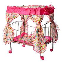 Детская кроватка для кукол 9350 / 015 MELOGO. МО. Гарантия качества. Быстрая доставка.