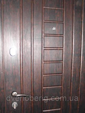 Входная дверь модель П3-153-1 тиковое дерево, фото 2