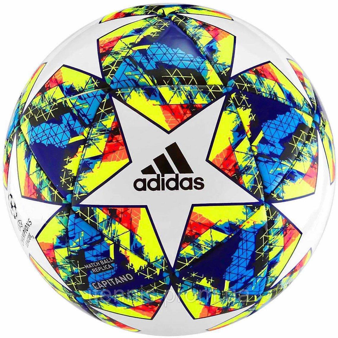 Футбольный мяч Adidas Finale Capitano 2019/20 size 5/4