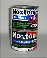 0.5 л Светящаяся в темноте краска Нокстон для стекла Фиолетовая