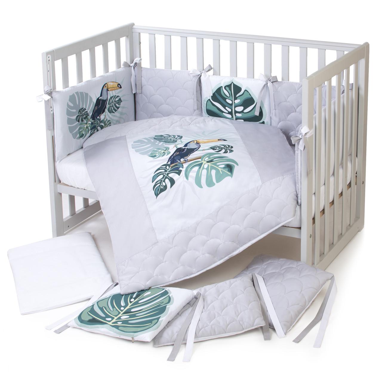 Постельный комплект для новорожденных Veres Tropic baby