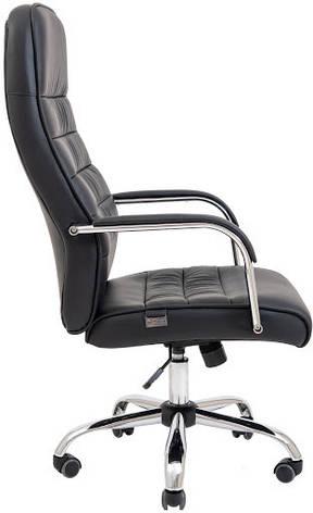 Крісло комп'ютерне Ліон Хром М1 (до/з Чорний), фото 2