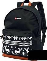 """Рюкзак """"классический олени"""" DERBY с карманом для ноутбука 14*"""