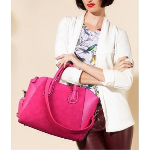 Женская сумка большая с ручками Glory Розовый