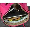 Женская сумка большая с ручками Glory Розовый, фото 3