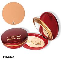 Компактная крем-пудра Christian № 08