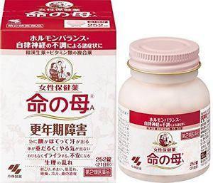 KOBAYASHI INOCHI NO HAHA А (мать жизни)-комплекс для женщин в период менопаузы 252 таб на 21 день