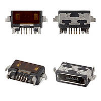 Коннектор зарядки для Xiaomi Mi2 (Mi 2), Mi2S (Mi 2S), Mi3 (Mi 3), 7 pin, micro-USB тип-B
