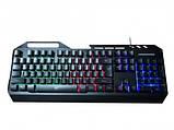 Клавиатура Havit HV-KB471L multimedia wired с подсветкой, фото 2