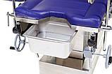 Стол акушерский МТ-400 операционный многофункциональный механика/гидравлика, фото 4