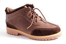 Ботинки женские коричневые Romani 2600216/3 р.36-41