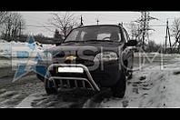 Кенгурятник Кенгур Передняя защита V2 Chevrolet Niva