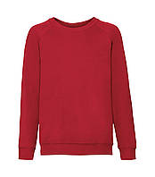 Детский реглан однотонный красный 039-40