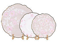 """Набор тарелок Lefard """"Виллари"""" 18 предметов (27 см, 23 см, 21 см), 935-016"""