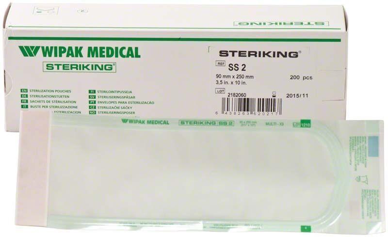 Самоклеящиеся пакеты Steriking Self Seal SS2 90 x 250 мм