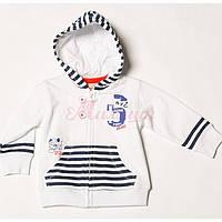 Детский кардиган для мальчика BRUMS Италия 151BDFC003 белый