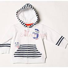Дитячий кардиган для хлопчика BRUMS Італія 151BDFC003 білий