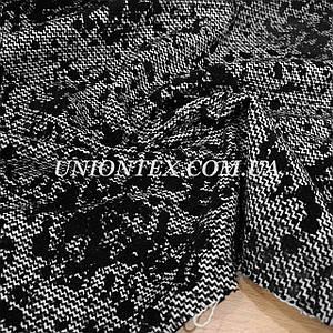 Пальтовая ткань принт с шерстью (Турция, 40% шерсть)