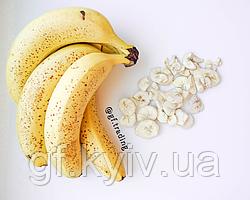 Банан сублимированый (лиофилизированый / сушеный) 50г