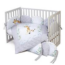 Постельный комплект для новорожденных Veres Giraffe
