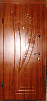 Входная дверь модель П3-46 светлый орех