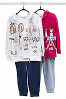 Детский спортивный костюм для девочки Baby Band Италия 2525 Белый,синий