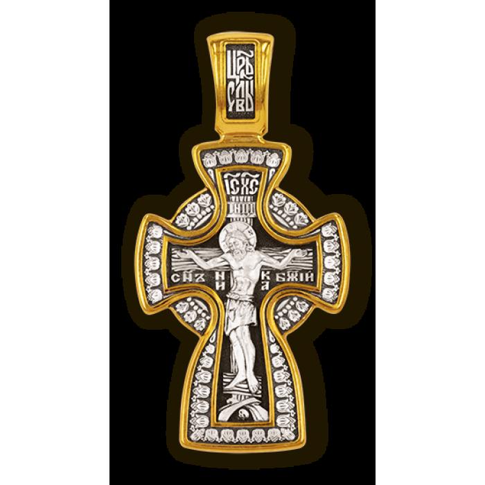 Крест Распятие Христово. Икона Божией Матери Знамение. Православный крест