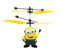 """Интерактивная игрушка летающий Миньон Мальчик (М/ф Миньйоны """"Гадкий Я"""" """"Посипаки"""")"""