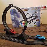 Детский гоночный трек. Работает от сети. Для детей от 3 лет. Материал: пластик. Код/Артикул  07210, фото 4