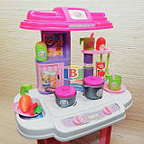 """Детский игровой набор """"Моя кухня"""". Световые и звуковые эффекты. Для детей от 3 лет. LIMO TOY 16641G, фото 4"""