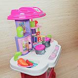 """Детский игровой набор """"Моя кухня"""". Световые и звуковые эффекты. Для детей от 3 лет. LIMO TOY 16641G, фото 6"""