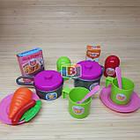 """Детский игровой набор """"Моя кухня"""". Световые и звуковые эффекты. Для детей от 3 лет. LIMO TOY 16641G, фото 7"""