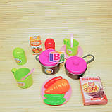 """Детский игровой набор """"Моя кухня"""". Световые и звуковые эффекты. Для детей от 3 лет. LIMO TOY 16641G, фото 9"""