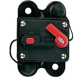 Автоматический предохранитель Mystery MCB-100 (100А)