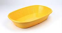 Блюдо овальное из меламина, 35*24,7*6,9 см, песочное