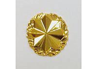 Эмблема Военной службы правопорядка золотистая