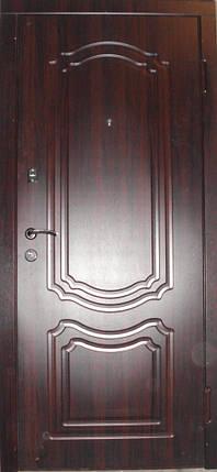 УЦЕНКА Входная дверь модель П3-206 темный орех, фото 2