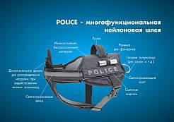 Collar Шлея нейлоновая универсальная Police Collar Dog Extreme 40-60см